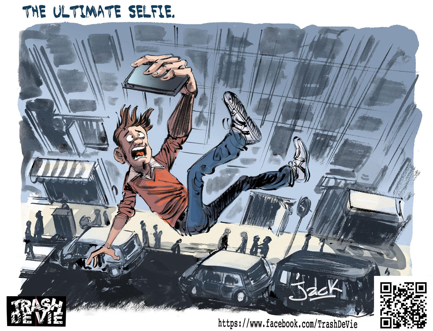 TDV ultimate selfie